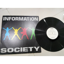 Lp Information Society - Software Hardware - Vinil Raro