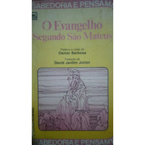 1603 Livro Osmar Barbosa: O Evangelho Segundo São Mateus
