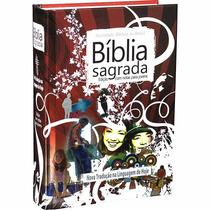 Bíblia Sagrada Edição Com Notas Para Jovens Capa Dura - Ntlh