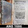 Ano 1686 - Original - Vida Do Nosso Senhor Jesus Cristo