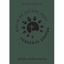Biblia De Estudo Para Pequenos Grupos (verde)