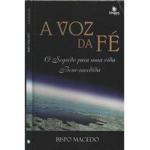 Livro A Voz Da Fé Bispo Macedo
