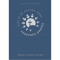 Biblia De Estudo Para Pequenos Grupos (azul)