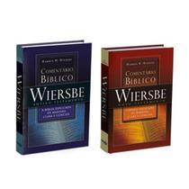 Comentário Bíblico Wiersbe 2 Vol - At E Nt - Melhor Preço!