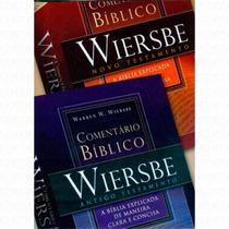 Comentário Bíblico Wiersbe 2 Vol - At E Nt - Frete Gratis!