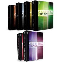Comentário Bíblico Matthew Henry Completo 6 Volumes Frete Gr