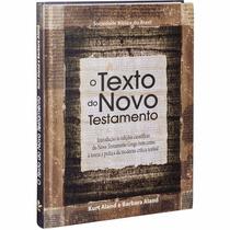 O Texto Do Novo Testamento - Línguas Originais Bíblicas Sbb
