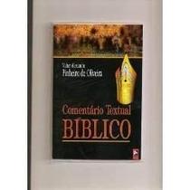 Livro-comentário Textual Bíblico - Base Hebraica.