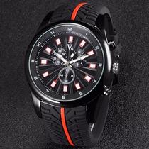 V6 V0281 Masculinos Decorativas Sub-mostradores Do Relógio Q