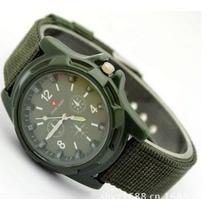 Relógio Estilo Aviador Gemyus Army- Sport Militar