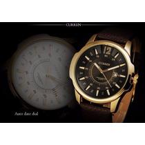 Relógio Masculino Curren 8123 Importado Presente Luxo