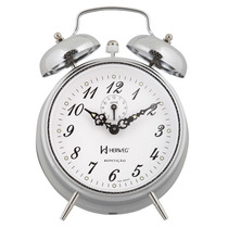 2380 - Relógio Despertador A Cordas Livre De Pilhas Herweg