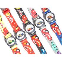 Relógio Carros Analógico Infantil Criança Pulseira 3d