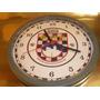 ( L - 550 ) Relógio De Parede Polícia Militar S.p Gate