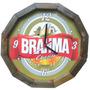 Relogio Cerveja Brahma Ou Antarctica Moldura Madeira