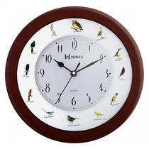 Relógio Parede Herweg 6370 Canto De Pássaros Brasileiros Som