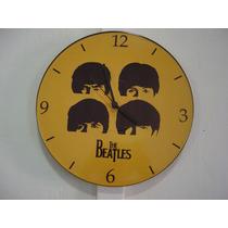 Relógio De Parede Em Vinil, The Beatles
