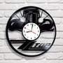 Carro Antigo Zz Top - Relógio De Parede - Disco De Vinil