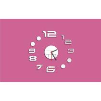 Relógio Decorativo - Números Grandes - Decoração Criativa