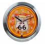 Relógio Em Neon Decorativo Rota 66 - Cadillac Ranch