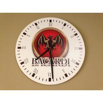 Relógio Decorativo De Parede - Baccardi -jack Daniels -duff