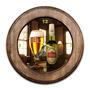 Relógio Stella Artois Com Moldura De Madeira