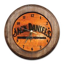 Relógio Jack Daniels Lynchburg Tennessee Com Moldura