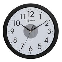 6417 - Relógio Parede Plástico Iluminação Noturna Automática
