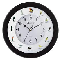 6370 - Relógio Parede Canto De Pássaros Brasileiros Herweg