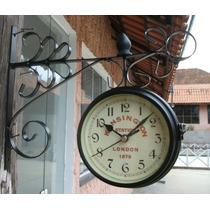 Relógio De Parede Estação London 1879 Kensington Station