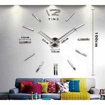 Relógio De Parede Grande - 1 Metro - Pronta Entrega