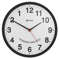 Relógio De Parede Herweg 6646 Invertido Anti Horário Maluco