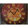 Relogio Desenho Coca Cola Antiga Propaganda Numeros Romanos