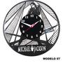 Relógios De Disco De Vinil- Michael Jackson Modelos 7 Ao 12