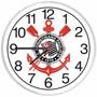 Relógio De Parede Sport Club Corinthians Paulista Decorativo