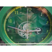 Relógio De Parede Palmeiras,são Paulo,corinthians E Santos