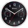 6397 - Relógio Parede 30 Cm Termometro E Higrometro Herweg