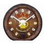 Barril Relógio Decorativo Horário Bar Grande