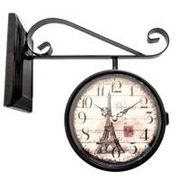Relógio De Estação Ferroviária Vintage Retrô - Lindo