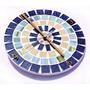Relógio De Parede Com Mosaico 23cm