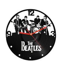 Relógios De Disco De Vinil- The Beatles Novos Modelos