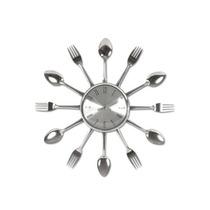 Relógio De Parede Cozinha Em Formato Talheres-pronta Entrega