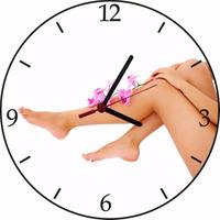 Relógio De Parede Em Vinil, Depilação, Salão De Beleza