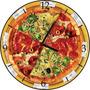 Relógio De Parede Em Disco De Vinil, Pizza, Pizzaria
