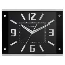 6218 - Relógio Parede Grande Continuo S/ Tic-tac 1 Ano Garan