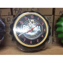 Relógio De Parede De Tampa De Garrafa Cerveja Brahma Black