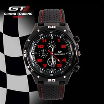 Relógio Esportivo F1 Gt Speed Racer Men.