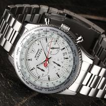 Relógio Detomaso Firenze Silver Stainless Steel - White Dial