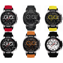 Relógio Tissot T-race Moto Gp Preto / Branco / Vermelho /
