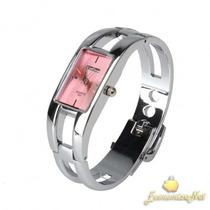 Relógio De Pulso Kimio Stainless Steel Elegante E Moderno